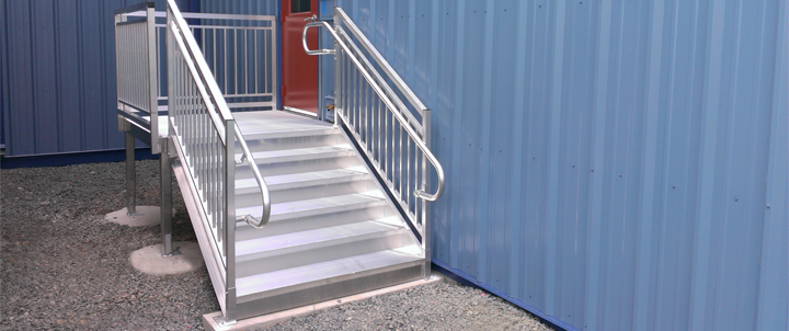 How To Clean Aluminum Stairs