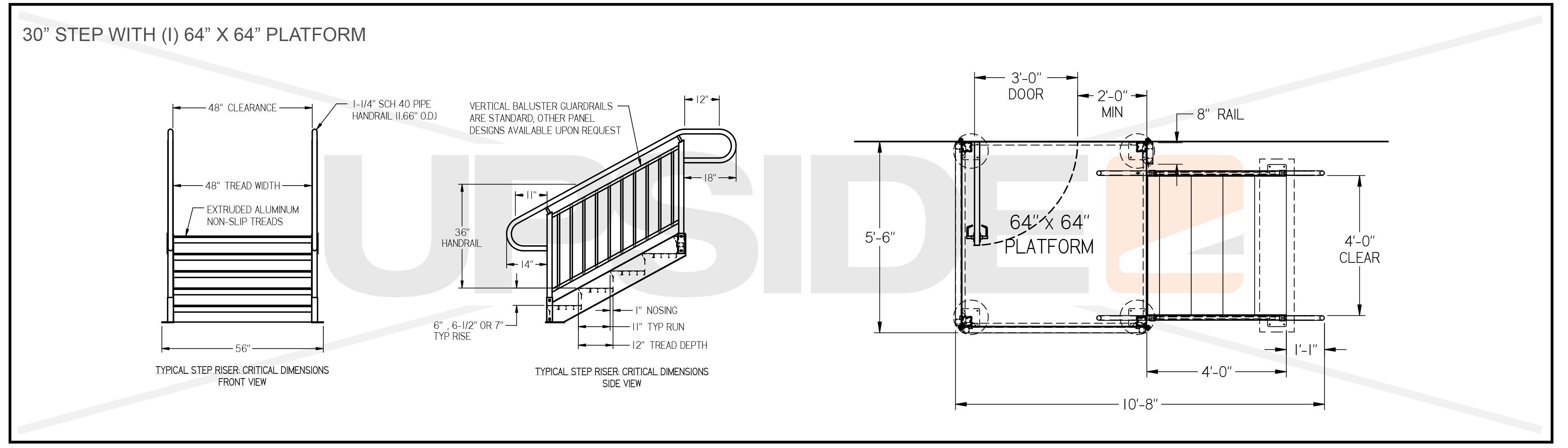 Means Of Egress Specifications Amp Drawings For Building