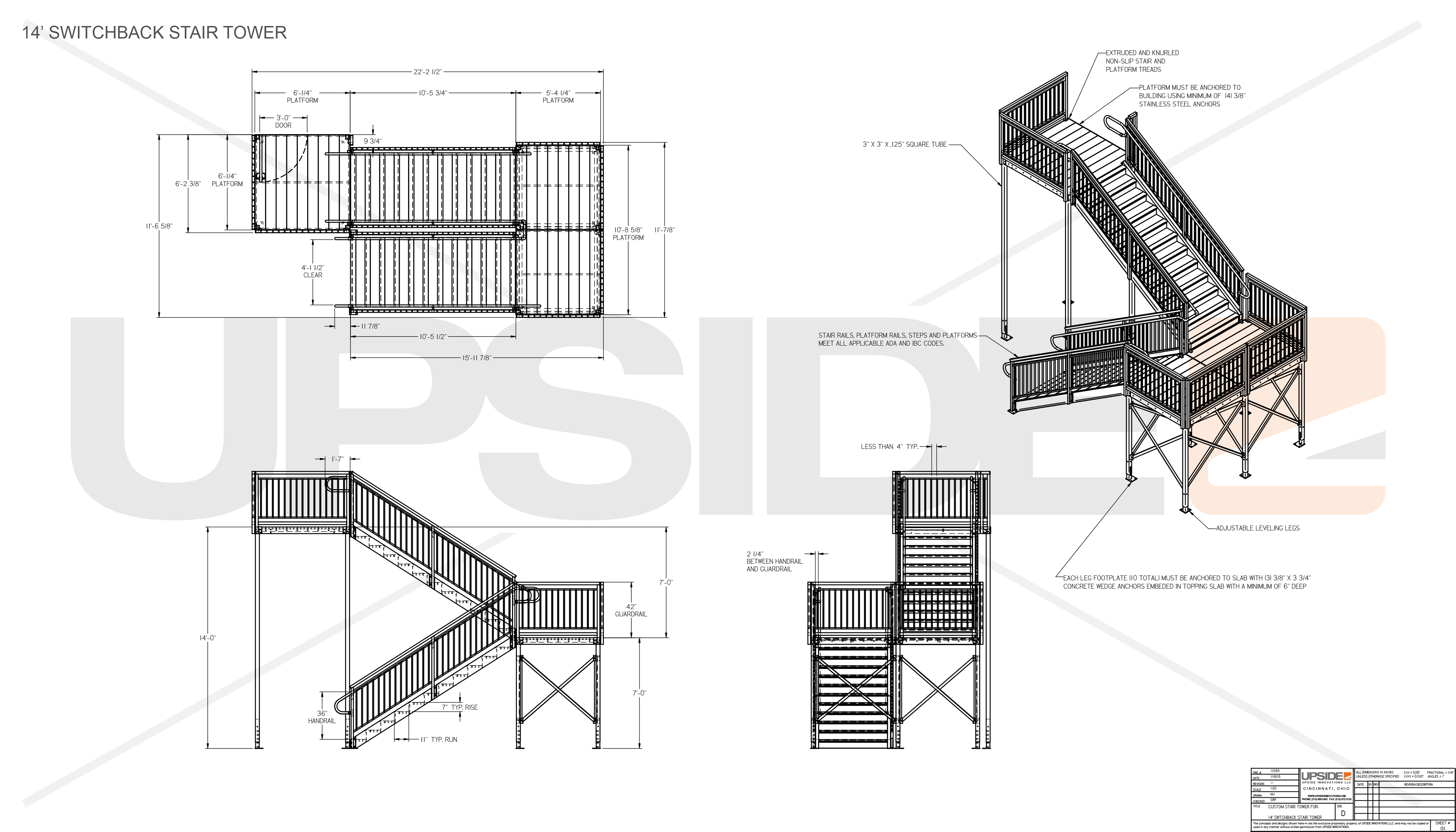 Means Of Egress Specifications Amp Drawings For Building Compliance