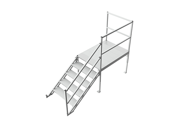Stairs for Mobile Office Trailers