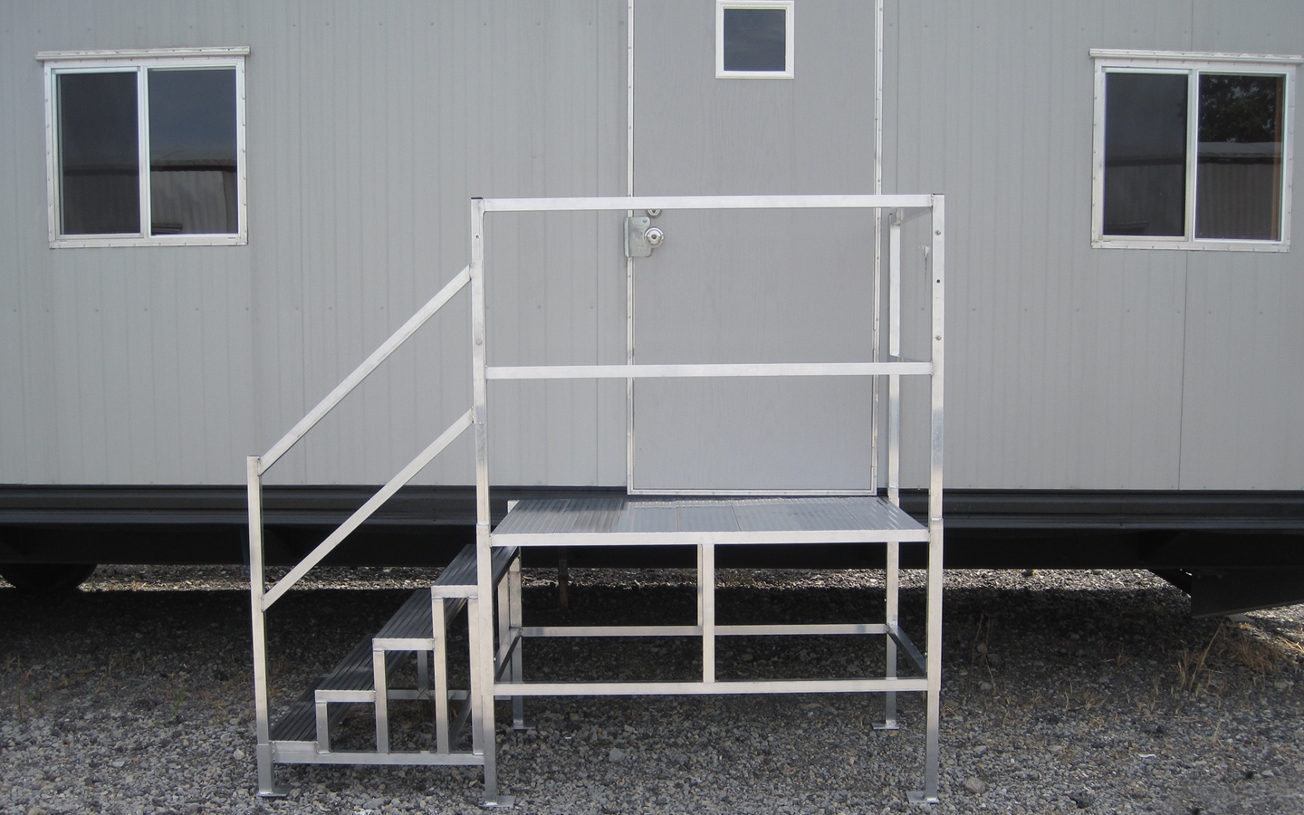 Mobile Trailer Steps