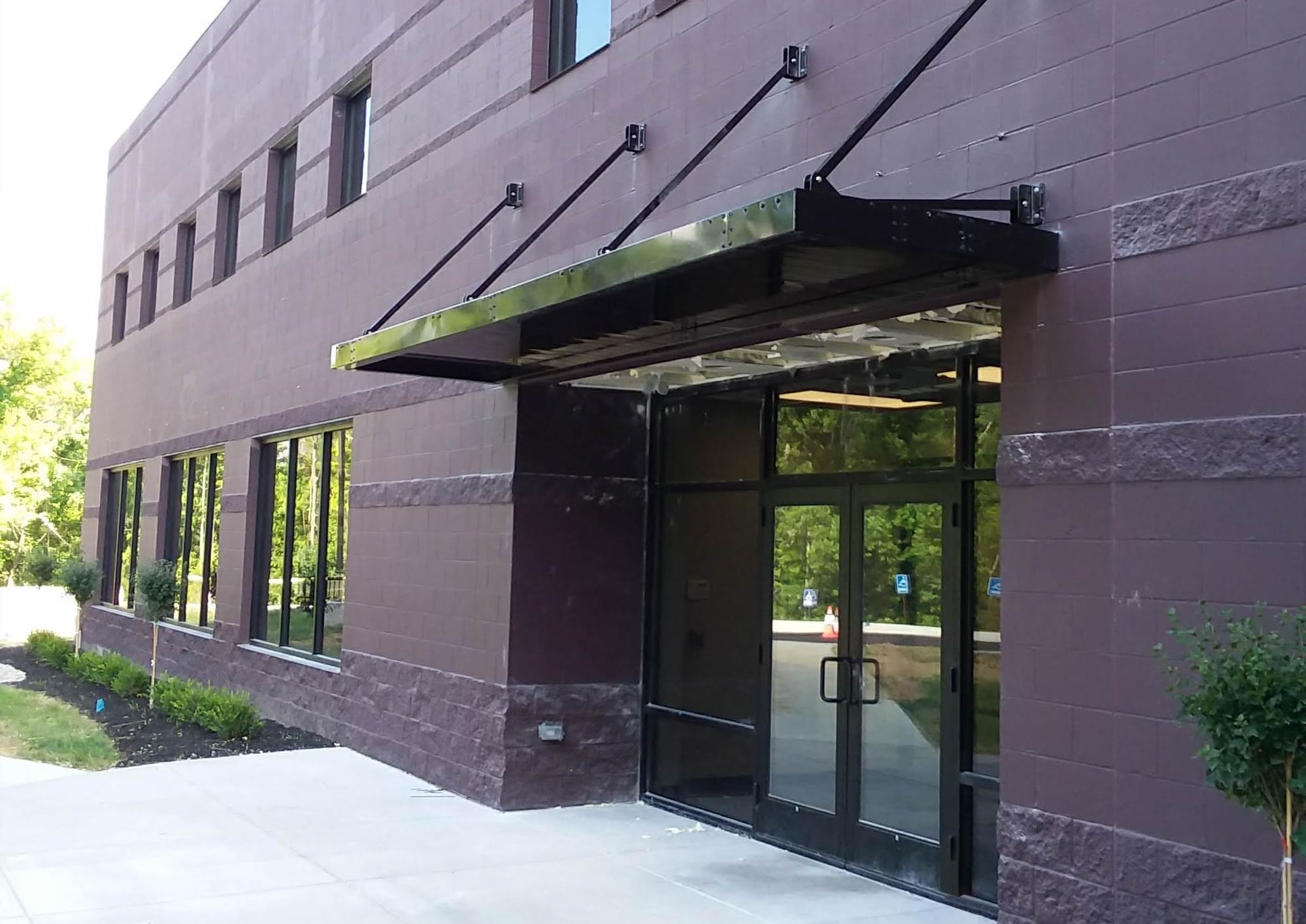 Commercial Metal Awnings - Upside Innovations