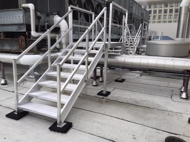 Roof Access Stairs Osha Compliant Upside Innovations
