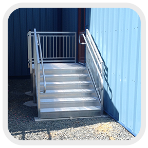 Commercial ADA Stairs