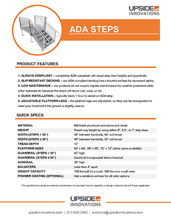 ADA stair specifications