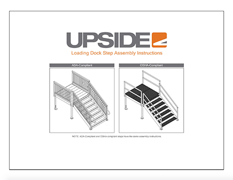 Loading dock assembly instructions