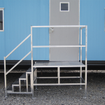 portable aluminum stairs for mobile office