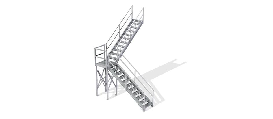 osha second story stairs