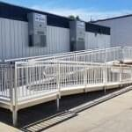 prefabricated switchback ramp