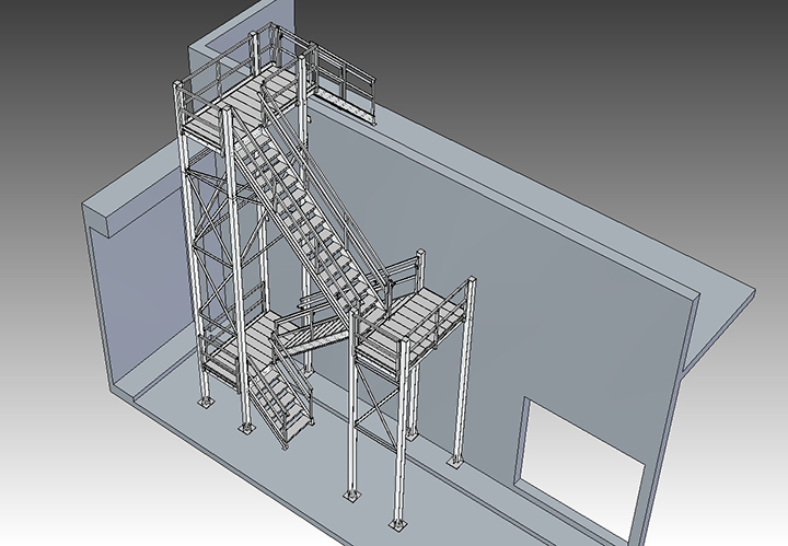 roof-access-osha-stair-tower