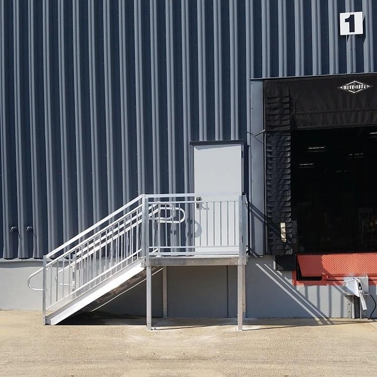 Warehouse Egress Stairs