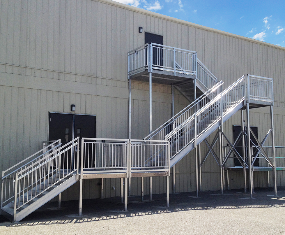 second story IBC stairs