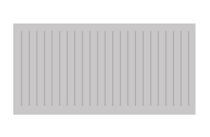 10-foot aluminum ramp section illustration
