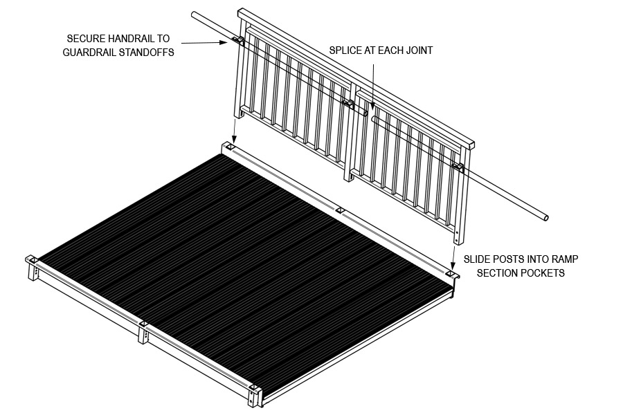 Prefabricated Ramp Section Assembly