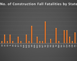 Statistics on Construction Fall Fatalities