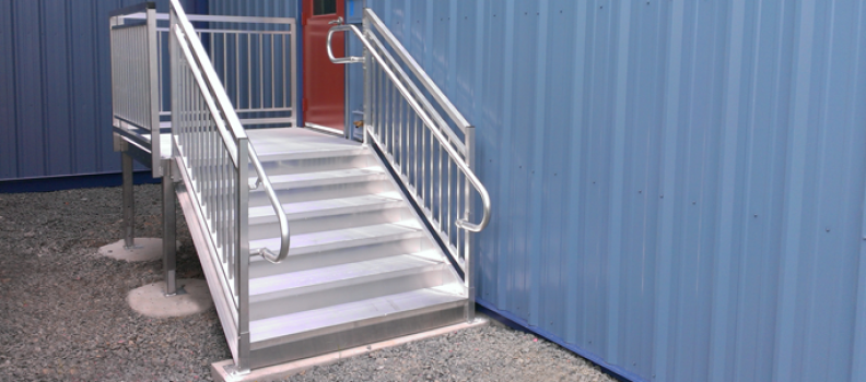 How to Clean Aluminum Stairs - Upside Innovations