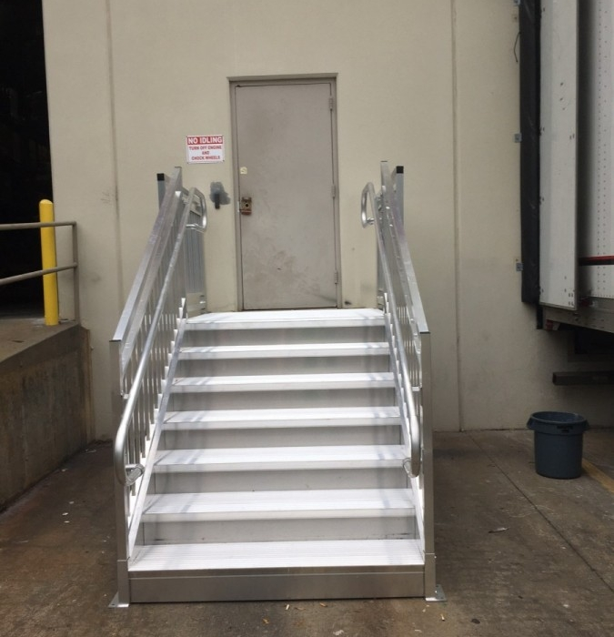 Warehouse steps