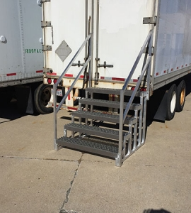 Trailer Access Step